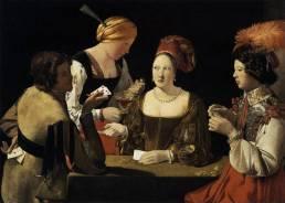 Georges de La Tour - Cheater with the Ace of Diamonds