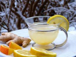 Teat With Lemon and Ginger